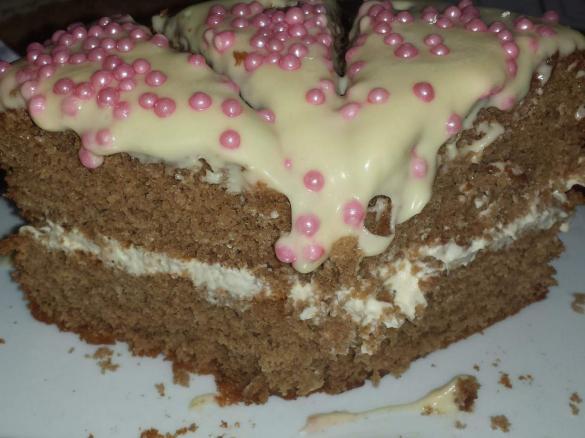 Ginger Fluff Sponge Cake Recipe