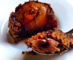Rustic Chocolate Plum Cake