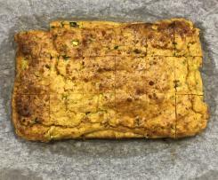Sweet Potato, zucchini slice