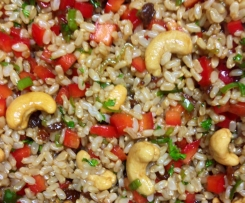 The Best Oriental Brown Rice Salad