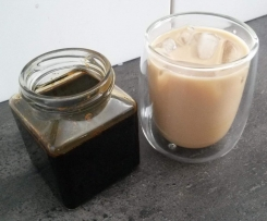 Ice Coffee Syrup (reduced sugar)