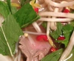Beef & Noodle Soup (Pho Bo)