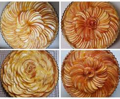 French Apple Tart with Pastry Cream