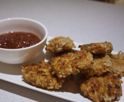 Crunchy Mexican Chicken Nuggets