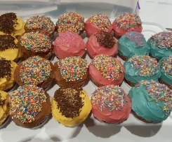 Granny Vest's Cup Cakes