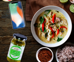 Veg Thai Green Curry Recipe