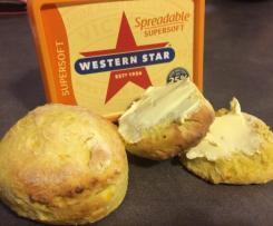 CWA pumpkin scones
