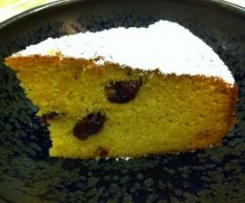Orange Cranbeany Cake