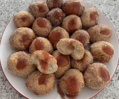 Dans Nuts. Doughnuts that is.                                                                                                                                                                           Variation Jam Ball Donuts.
