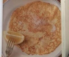 Delia Smith's Basic Pancakes (crepes)
