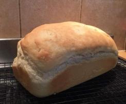 Crusty Fluffy White Bread