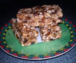 no-added-sugar muesli bars (no bake) with nut-free variation