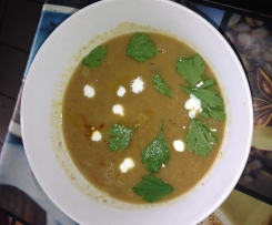 Chestnut soup