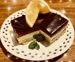 Jaffa Cheesecake Slice