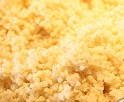 Cooked Millet (awesome alternative to cous cous)