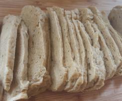 Chicken Loaf style seitan (vegan meat)