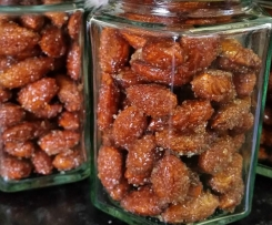 Honey Cinnamon Roasted Almonds