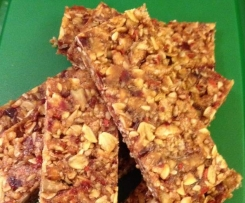 No bake, no nut, Lunchbox Muesli Bar