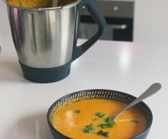 Simple Smoky Pumpkin & Potato Soup