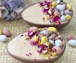 Chocolate Easter Egg Cheesecakes