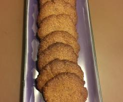 Golden syrup spice cookies