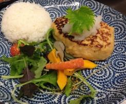 Japanese Style Chicken Patty/Hamburg Stake