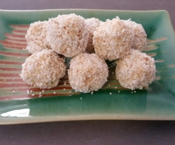 Lime and Lemon Bliss Balls