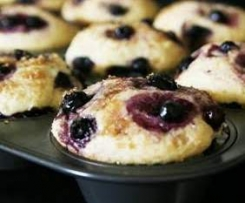 Easy peasy 2 minute Blueberry Muffins