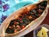 Turkish Spinach Pide