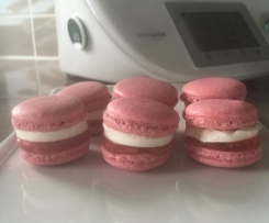 Berry Jelly Mallow Macarons by Erika