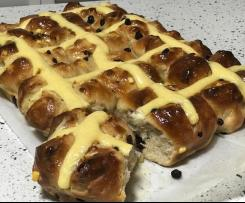 Custard Cross Buns