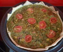 Veggie Filled Quiche