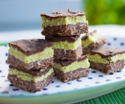 Raw Peppermint Slice (gluten free, paleo, dairy free, FODMAP friendly