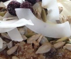 Apple, Cinnamon and Quinoa Porridge