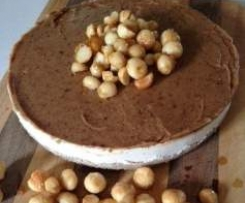 Macadamia and Caramel cheesecake