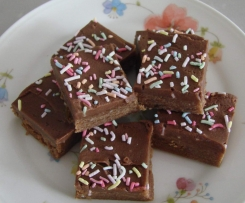 Chocolate fudge biscuits (no bake)