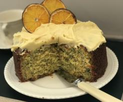 Whole Orange and Poppyseed Cake