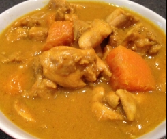 Pumpkin & Chicken Curry (GF / DF)