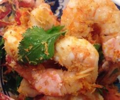 Spiced Coconut Prawns (Adapted from Donna Hay, Instant Entertaining)