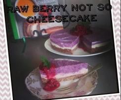 Raw Berry not so Cheesecake