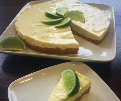 Lime No-Bake Cheesecake