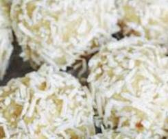 Lemon Raw Balls (gluten free, sulphur free)
