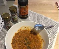 Hearty and delicious lentils