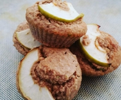 APPLE CINNAMON OAT MUFFINS by Domestic Thermominx