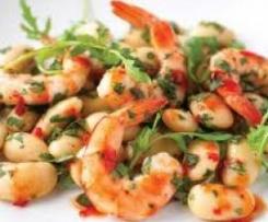 Coriander and sweet chilli prawns