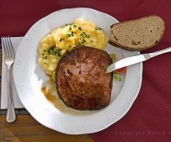 Bavarian Meat loaf (Leberkase)
