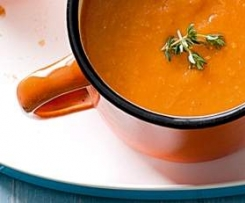 Roasted tomato soup - low calorie