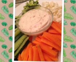 Creamy onion dip