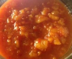 Tomato & Apricot Chutney