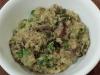 Mushroom, Leek & Pea Risotto with Quinoa